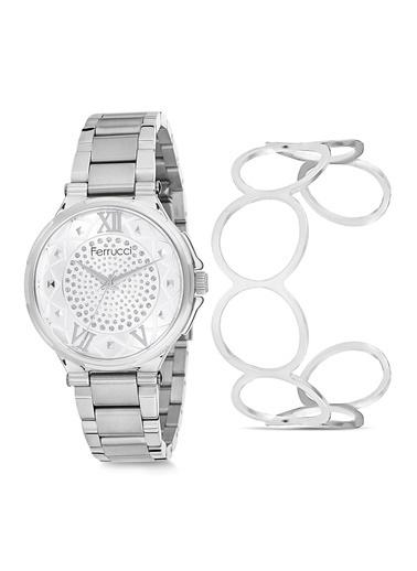 Ferrucci Saat Gümüş